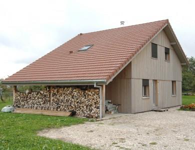 Bole Richard Maison ossature bois Maison bois Habitat bois Bartherans (25)