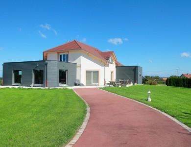 Bole Richard extension bois Module maison bois Amancey (25)