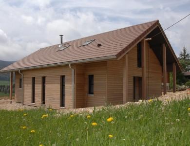 Bole Richard - Maison bois à Bois d'Amont (39)