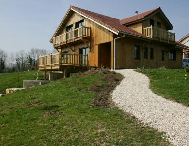 Bole Richard Maison ossature bois Maison bois Habitat bois Amathay Vesigneux (25)