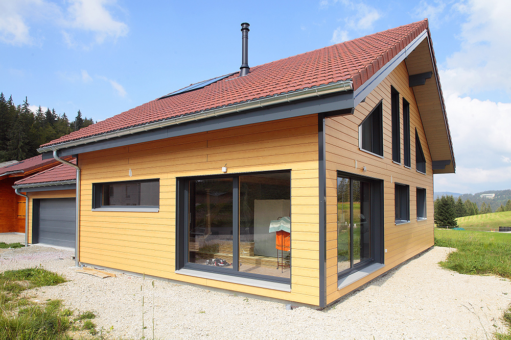 Maison bois dans le Jura u2013 Bole RichardBole Richard # Construction Bois Jura