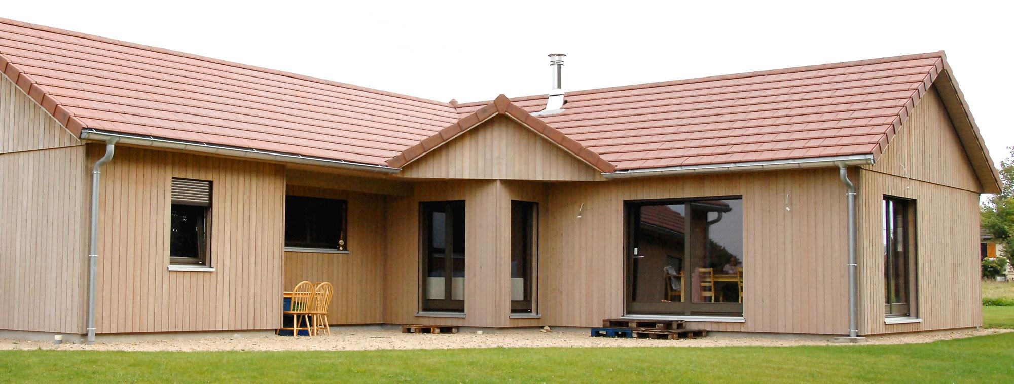 Maisons bole richard construction bois en franche comt bole richard for Construction bois en franche comte