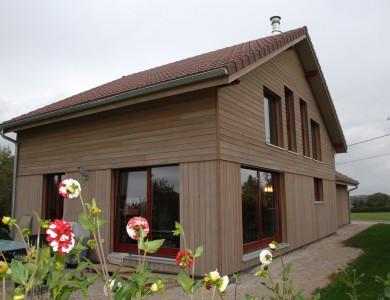Bole Richard Maison ossature bois Maison bois Habitat bois Recologne (25)