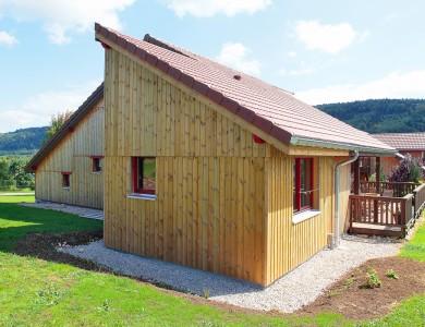 Bole Richard extension ossature bois extension bois agrandissement maison bois Amathay Vesigneux (25)