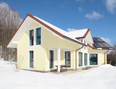 Bole Richard Maison ossature bois Maison bois Habitat bois Panneaux solaires Vaux et Chantegrue (25)