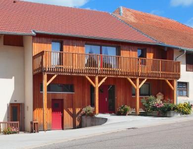 Bole Richard rénovation bois Rénovation facade bois Rénovation bois Maison bois Deservillers (25)