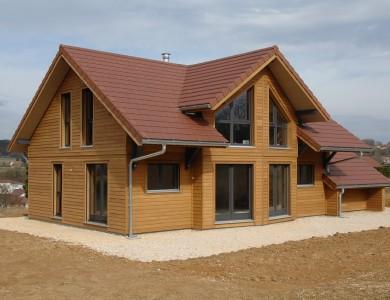 Bole Richard Maison ossature bois Maison bois Habitat bois Dole (39)