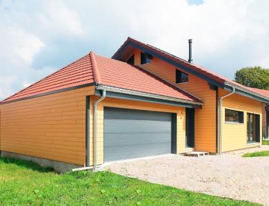 Bole Richard Maison ossature bois Maison bois Habitat bois Prémanon (39)
