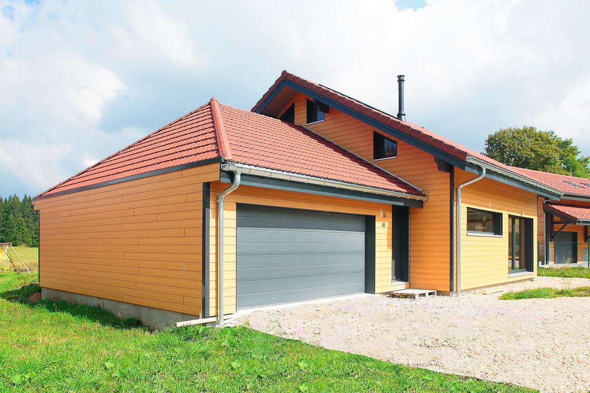 Maison bois dans le Jura – Bole RichardBole Richard