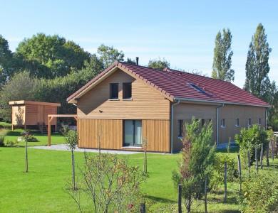 Bole Richard Maison ossature bois Maison bois Habitat bois Velesmes Essart 25