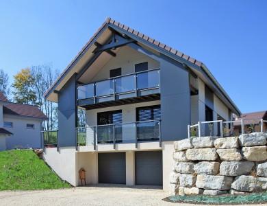 Bole Richard Maison ossature bois Maison bois Habitat bois Arçon (25)