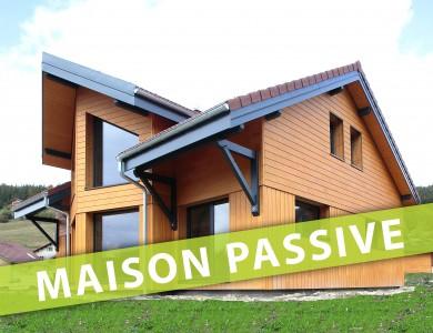 Bole Richard Maison ossature bois Maison passive Maison bois passive Bois d'Amont (39)