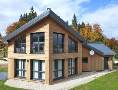 Bole Richard Maison ossature bois Maison bois moderne Maison bois contemporaine Prémanon (39)
