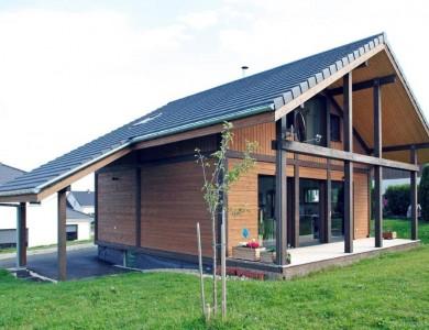 Bole Richard Maison ossature bois Maison bois moderne Habitat bois Sainte-Colombe (25)