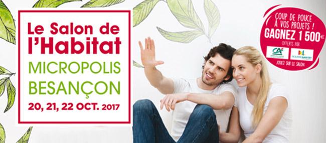 Retrouvez les maisons Bole-Richard sur le salon de l'habitat 2017 de Besançon