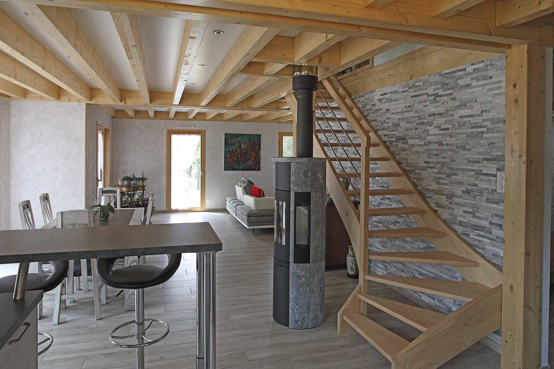 Le Constructeur De Bourgogne maisons bole-richard - construction bois en franche