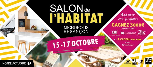 Maisons Bôle Richard sera présent au salon de l'habitat 2021 de Besançon